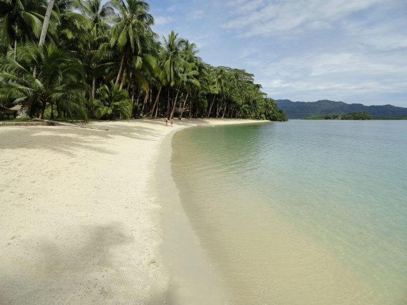 Port Barton island-hopping tour
