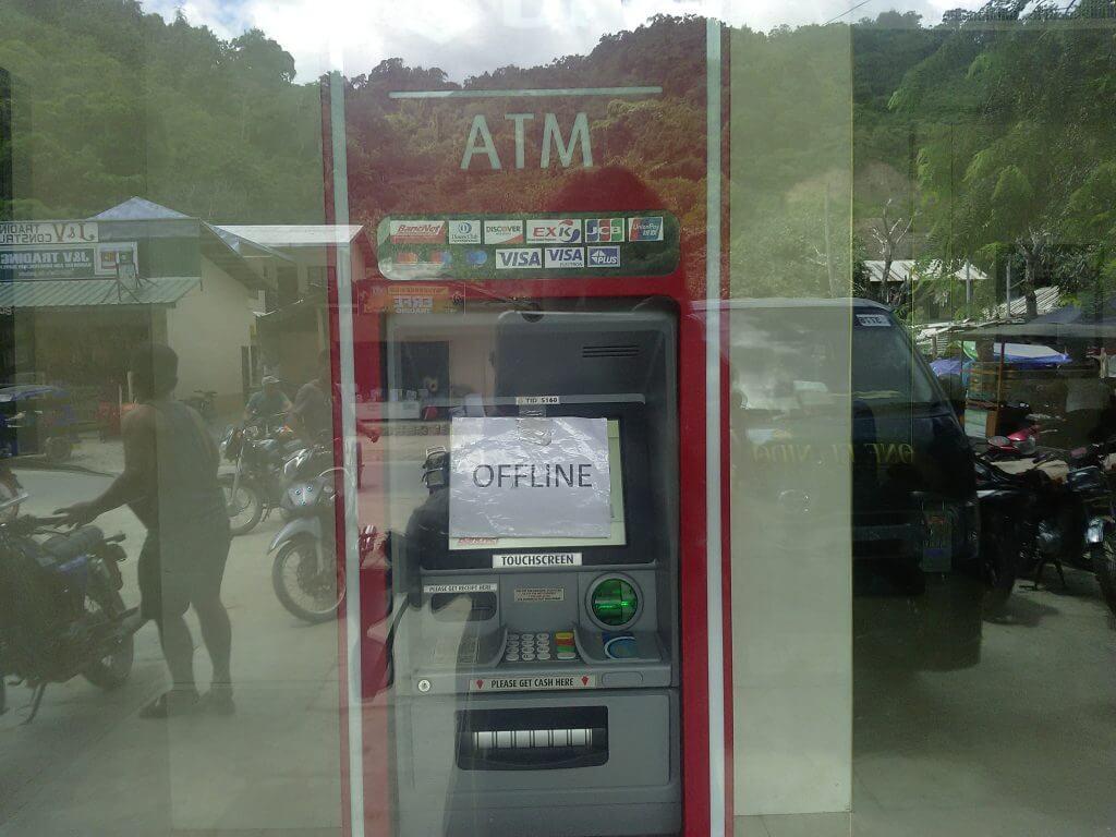 ATMs Not Working in El Nido?